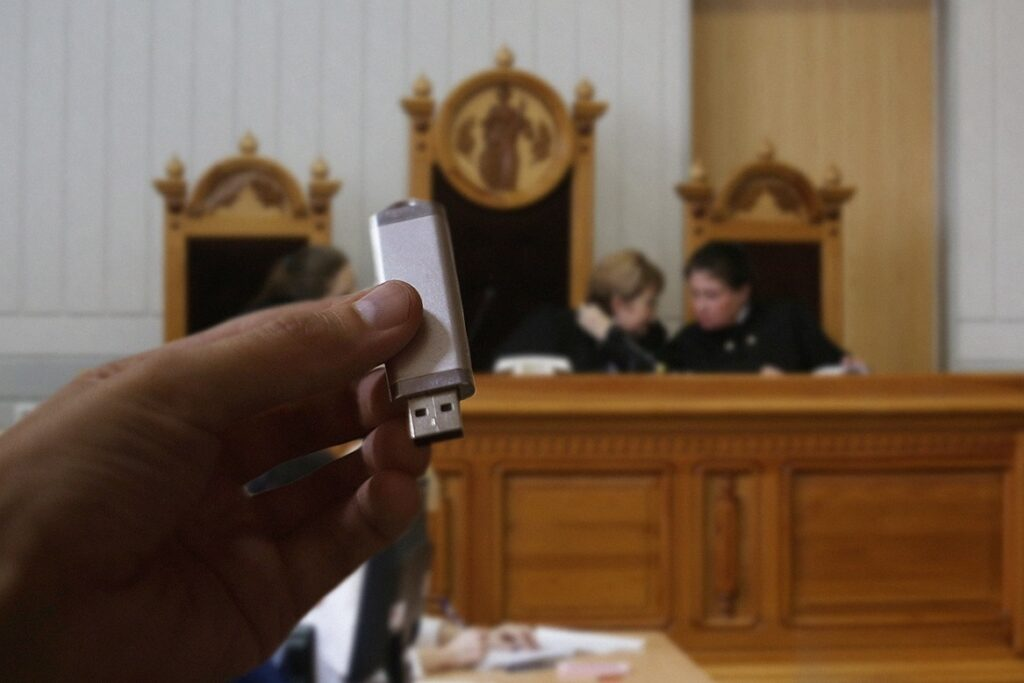 Видеозаписи как доказательство в суде - что надо знать